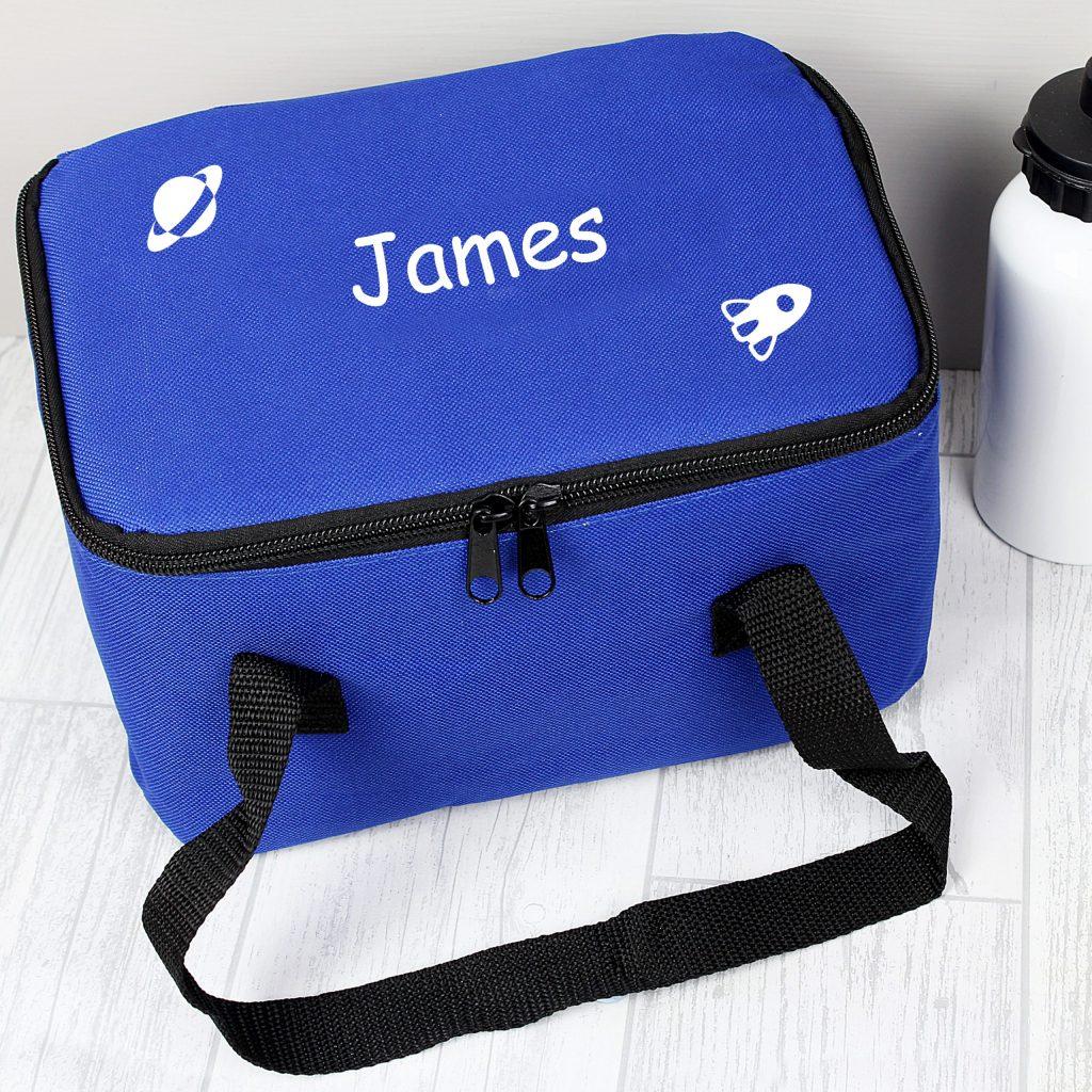 White Rocket Lunch Bag