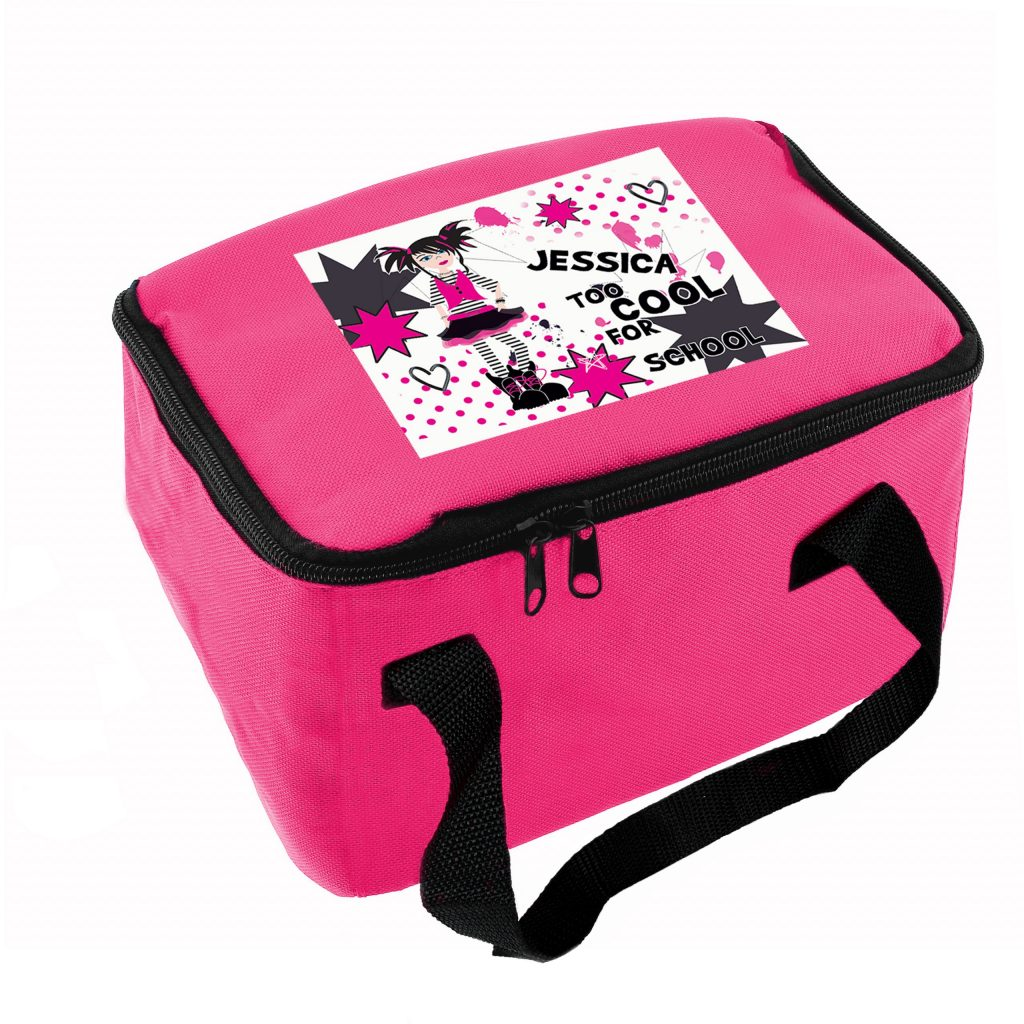Too Cool Girl Lunch Bag