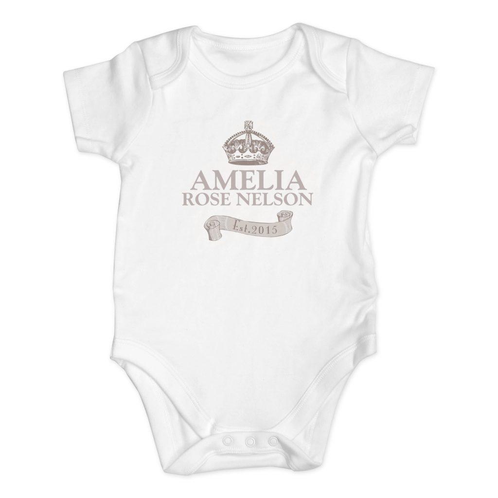 Royal Crown Baby Vest