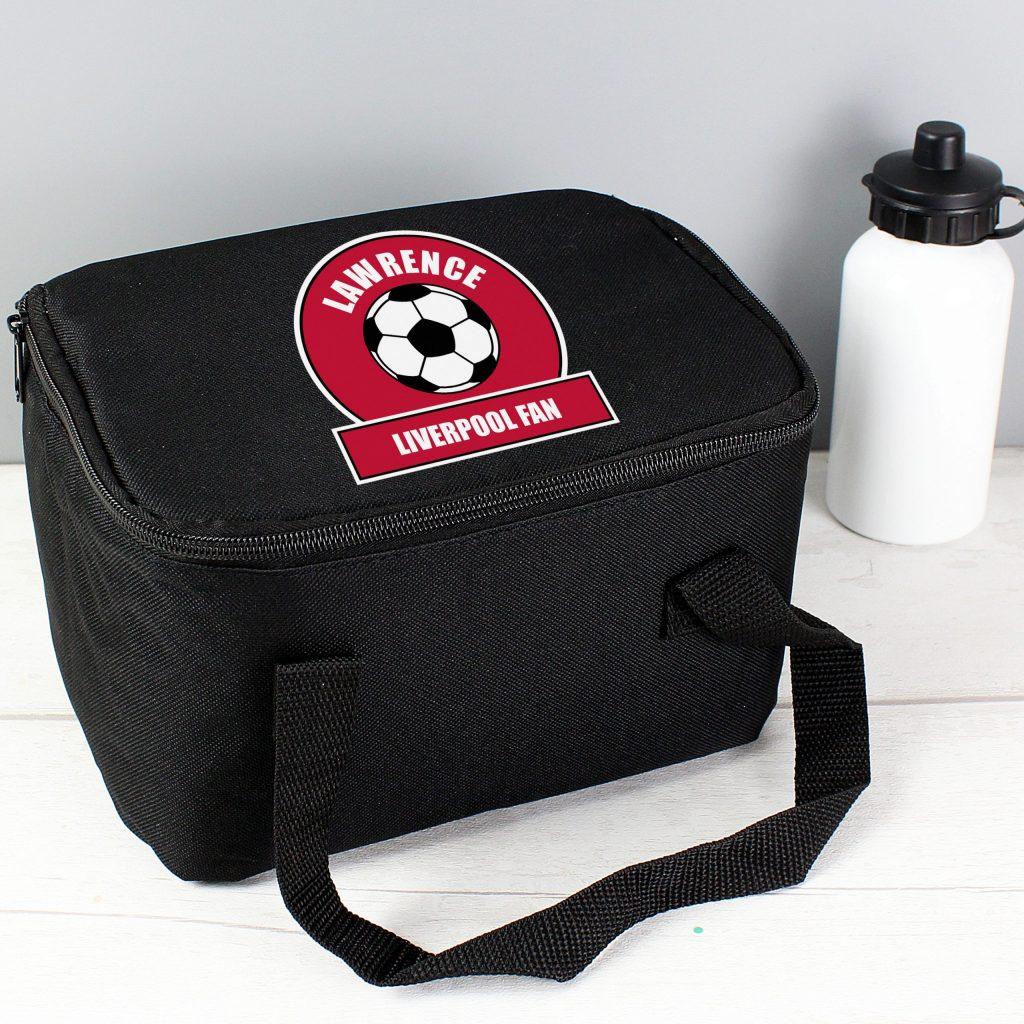 Red Football Fan Lunch Bag