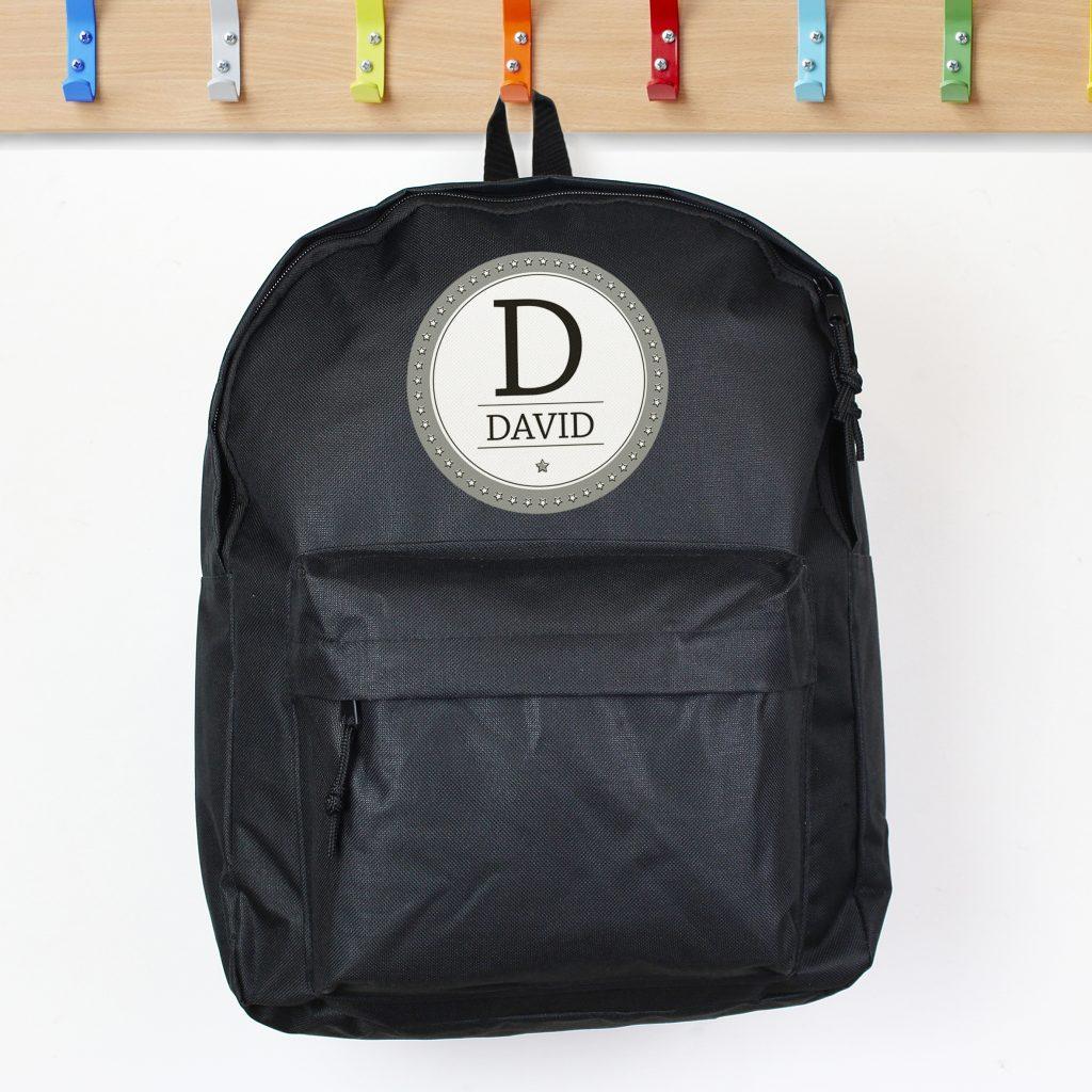 Star Name Black Backpack