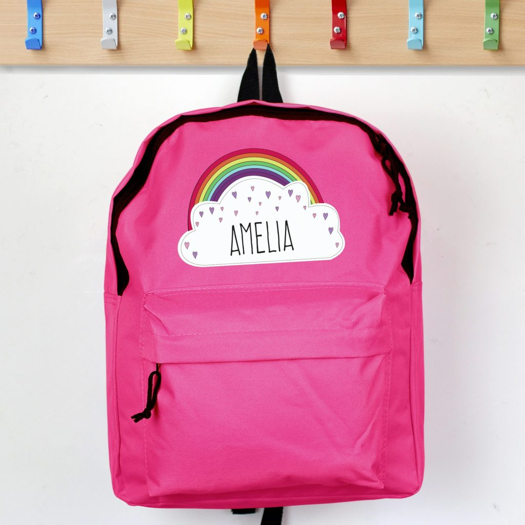 Rainbow Pink Backpack