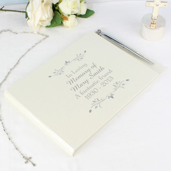 Sentiments Guest Book & Pen