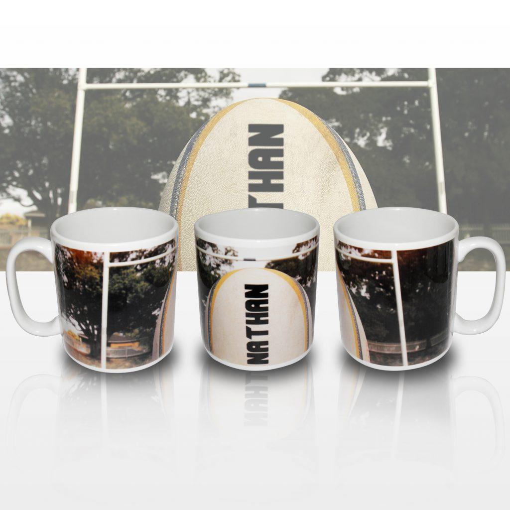 Rugby Ball Mug
