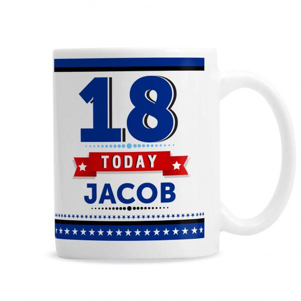 Birthday Star Mug