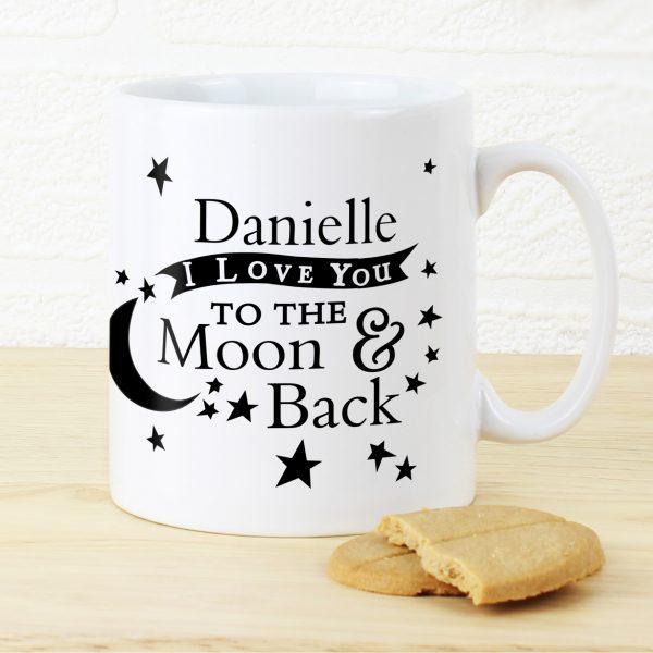 To the Moon and Back... Mug