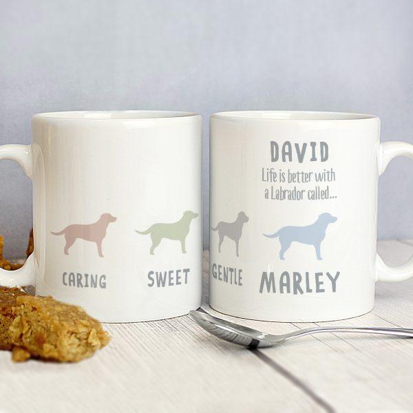 Labrador Dog Breed Mug