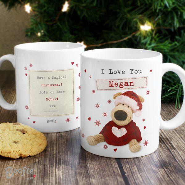Boofle Christmas Love Mug