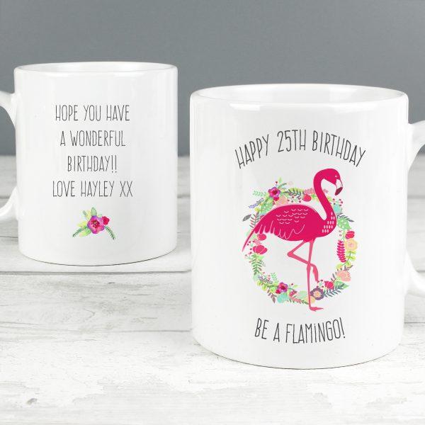 Flamingo Slim Mug