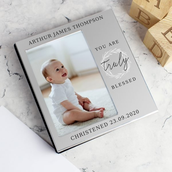 Personalised Truly Blessed 6x4 Photo Frame Album