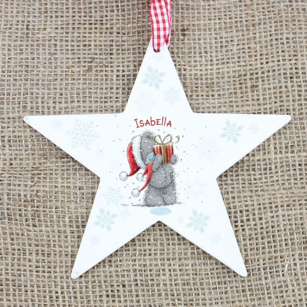 Me To You Wooden Wooden Star Decoration