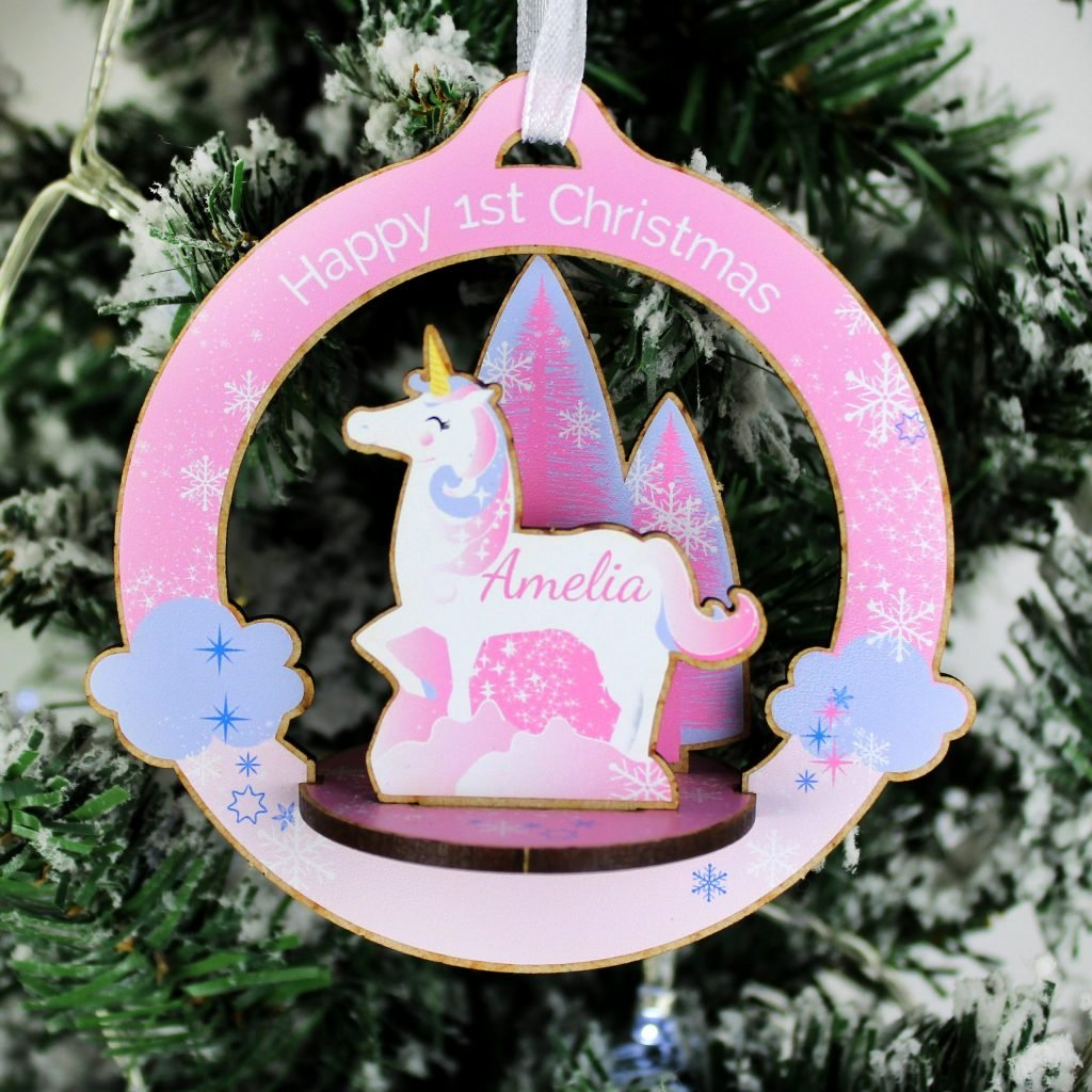 Personalised Make Your Own Unicorn 3D Decoration Kit