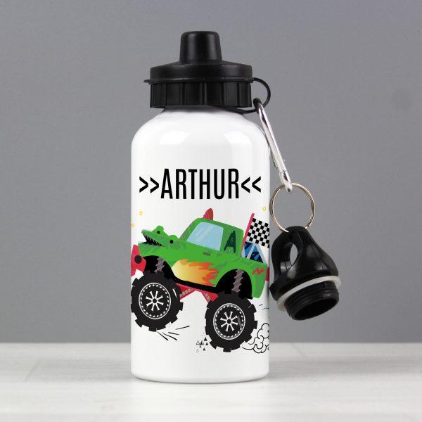 Personalised Monster Truck Drinks Bottle