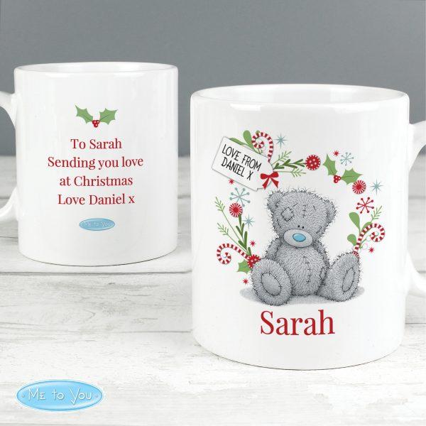 Personalised Me to You 'For Nan, Grandma, Mum' Christmas Mug