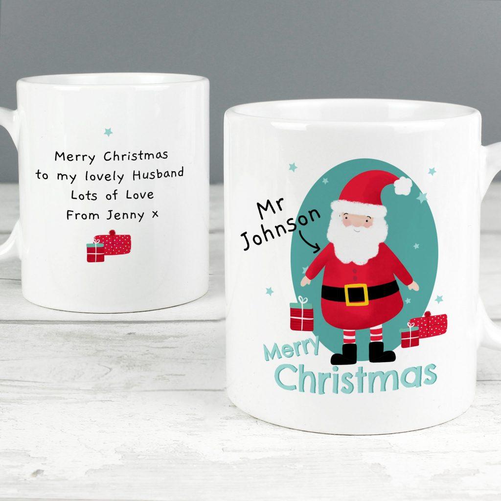Personalised Mr Claus Mug