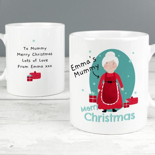 Personalised Mrs Claus Mug